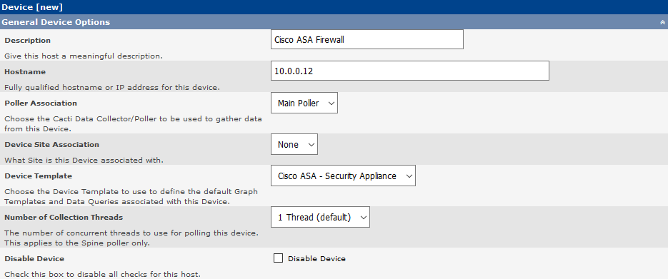 How to Monitor Cisco ASA Firewall With Cacti | Tech Space KH