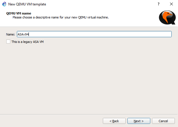 Configuring Cisco ASAv QCOW2 with GNS3 VM   Tech Space KH
