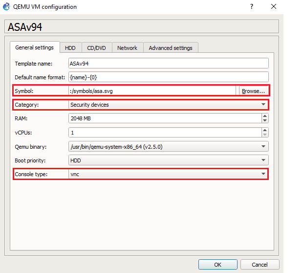 Configuring Cisco ASAv QCOW2 with GNS3 VM | Tech Space KH