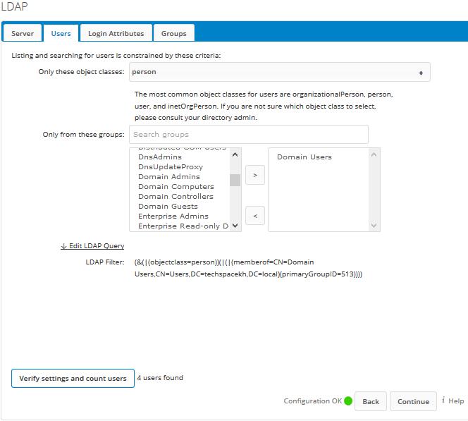 Nextcloud LDAP Active Directory User Authentication | Tech